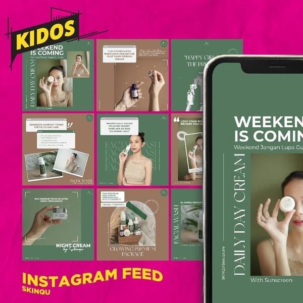 jasa kelola feed instagram kidos agency